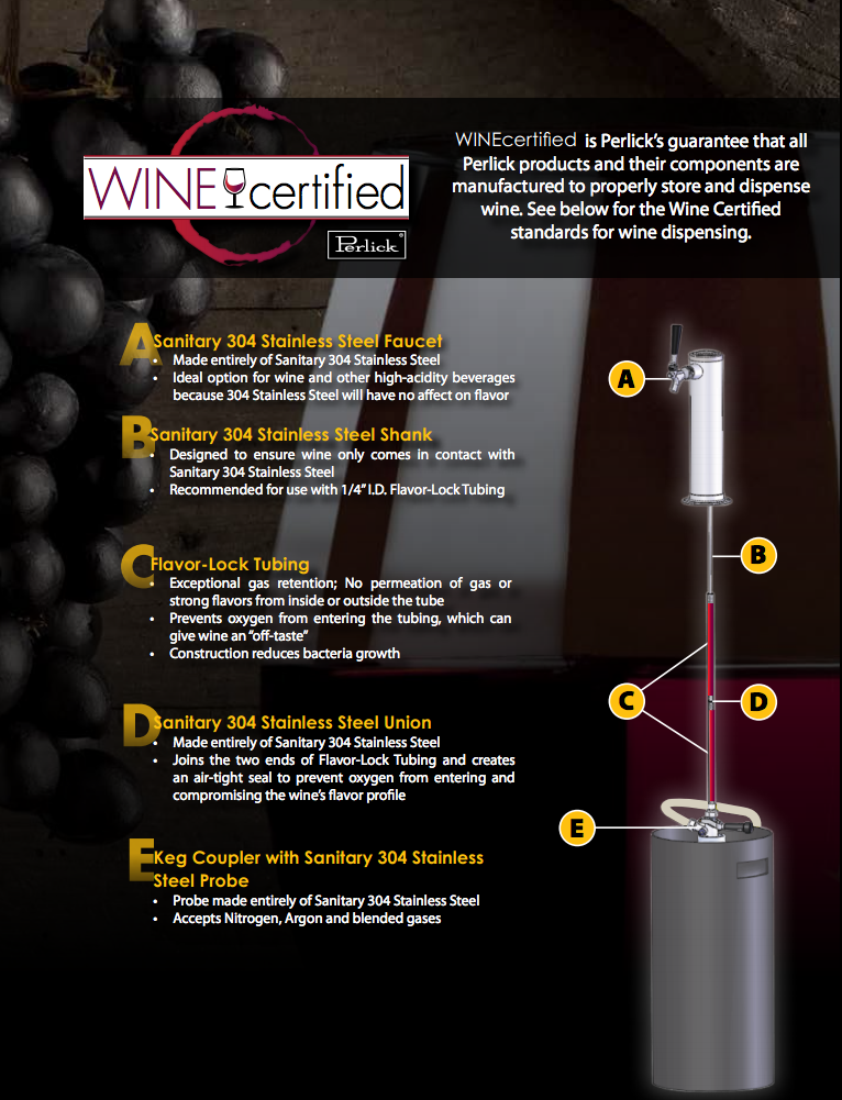 Perlick Wine Dispensing & Storage
