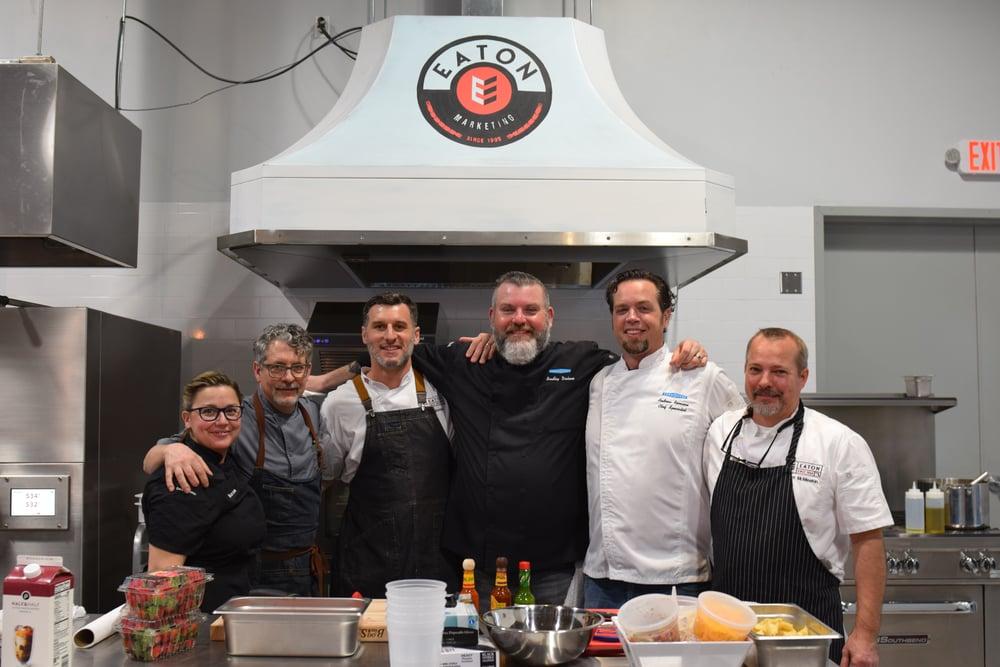 Eaton Marketing Chefs Open House