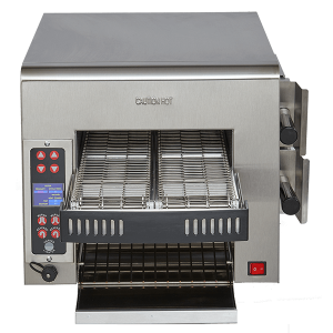Split-Belt Impingement Conveyor Toaster