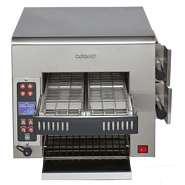 Split-Belt Impingement Conveyor Toaster
