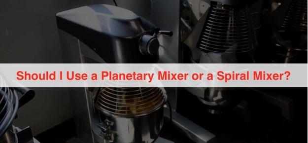 New Planetary Mixer