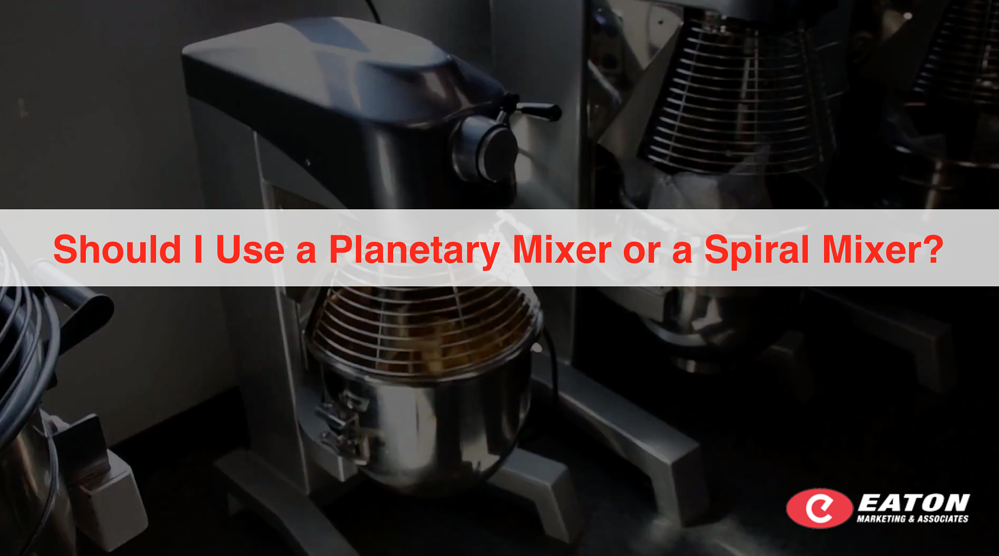 Should I Use a Planetary Mixer or a Spiral Mixer?