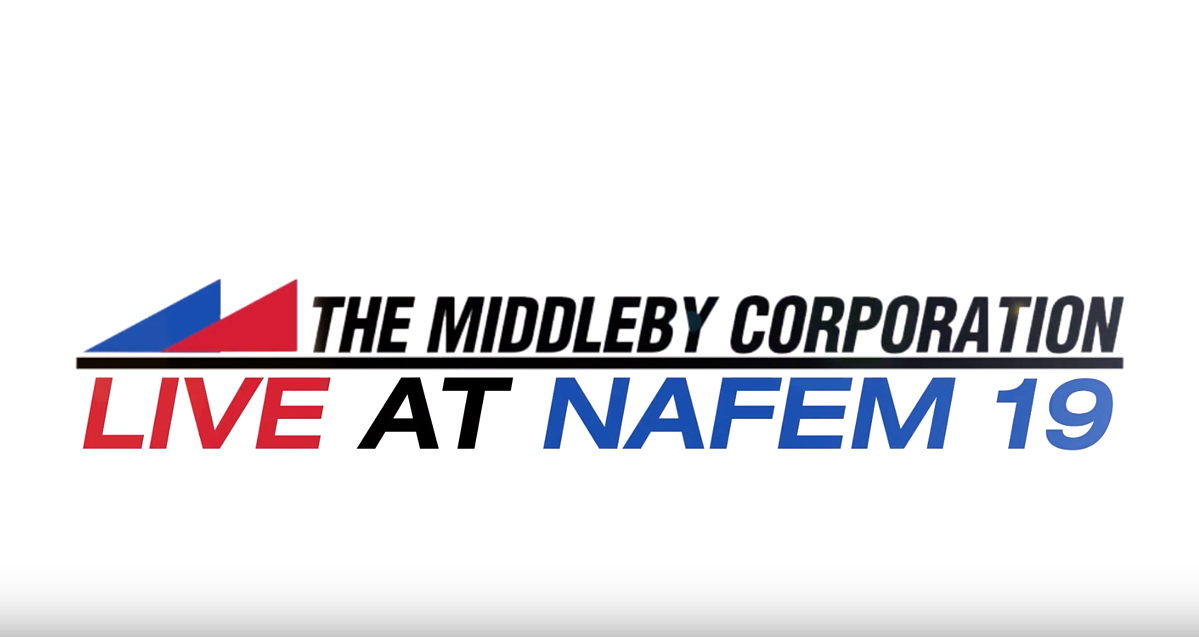 The Middleby Corporation - A Video Recap from The NAFEM Show 2019