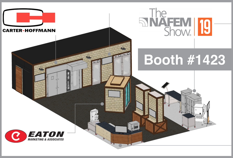 What to See in the Carter-Hoffmann Booth at The NAFEM Show 2019