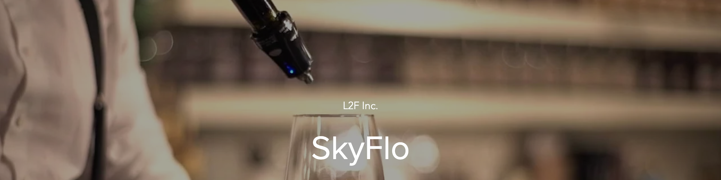 Measure the Perfect Pour with the SkyFlo Liquor Management System
