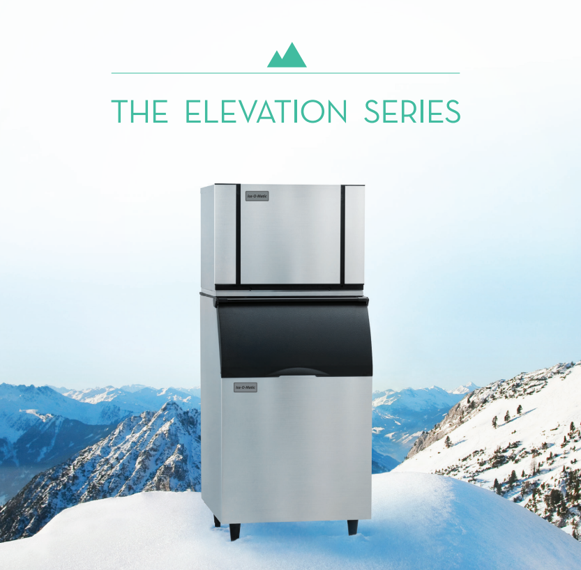 the exclusive features of ice o matics elevation series ice machines - Ice O Matic Ice Machine